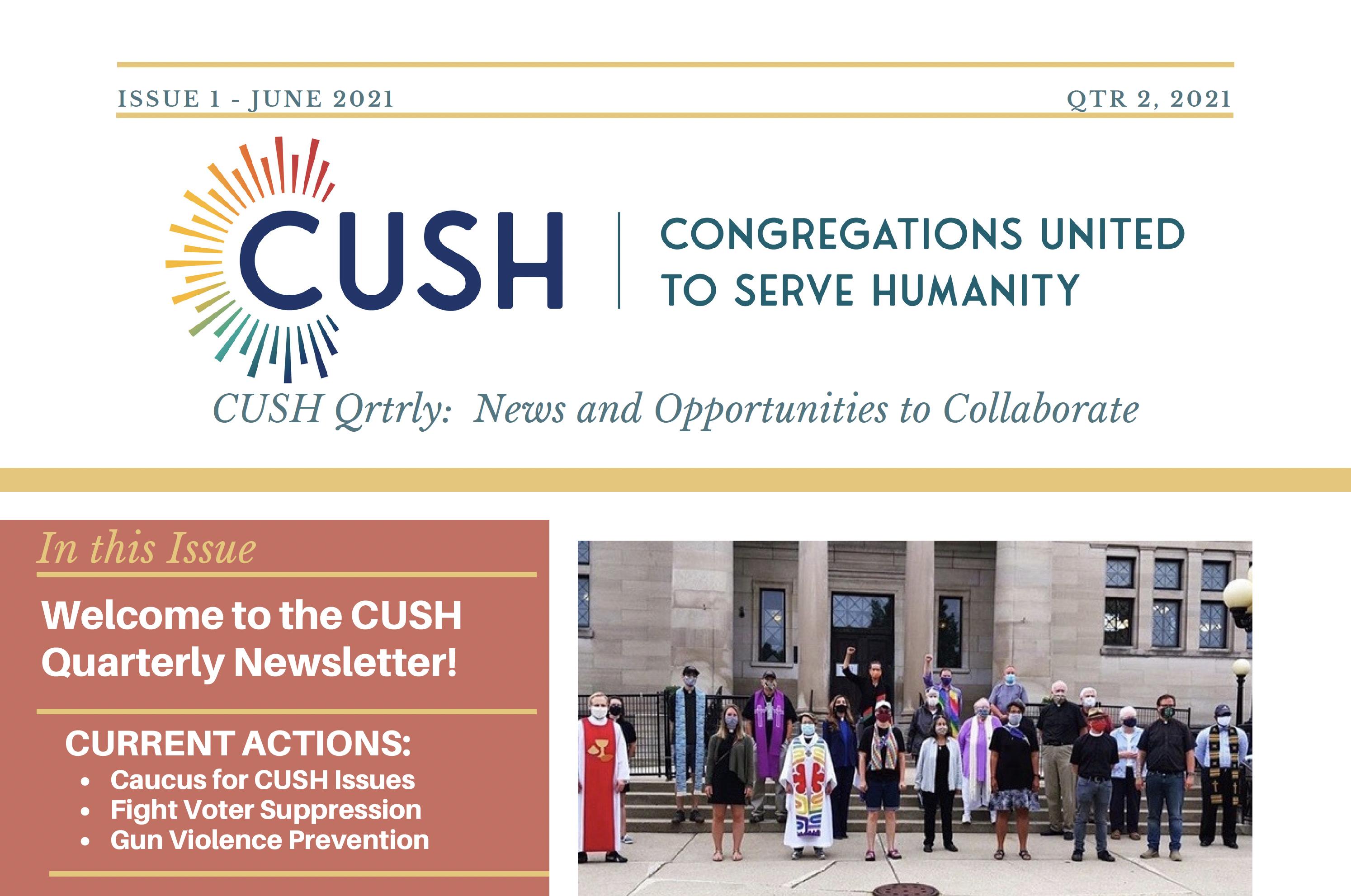 June 2021 Newsletter header