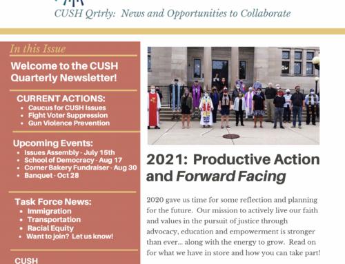 CUSH June 2021 Newsletter
